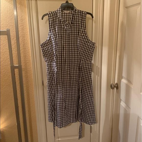 Westport Plaid Shirt Dress